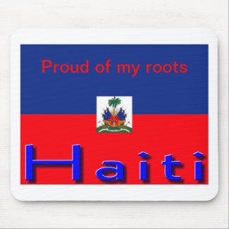 Haiti flag mousepads