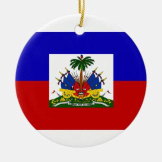 HAITI FLAG ORNAMENT