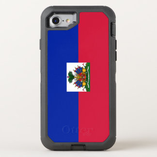 Haiti Flag OtterBox Defender iPhone 8/7 Case