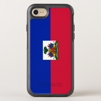 Haiti Flag OtterBox Symmetry iPhone 8/7 Case