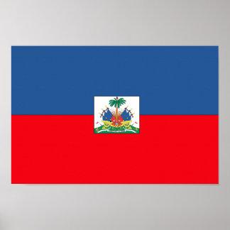 Haiti Flag Poster