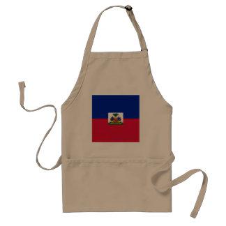 Haiti Flag Standard Apron