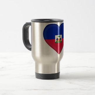 Haiti Flag Travel Mug