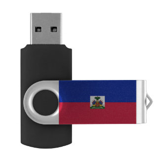 Haiti Flag USB Flash Drive