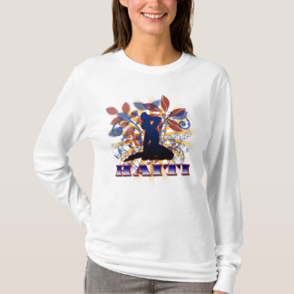 HAITI (FLORAL GRAFX) T-Shirt