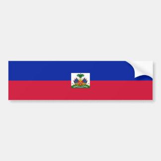 Haiti/Haitian Flag Bumper Sticker