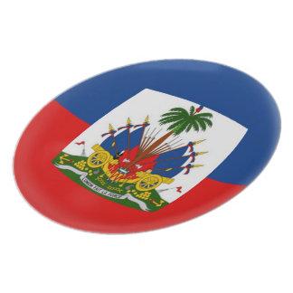 Haiti Haitian Flag Plate