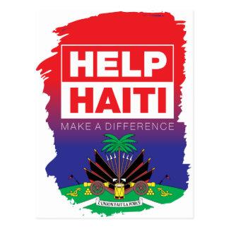 Haiti_Help Postcard