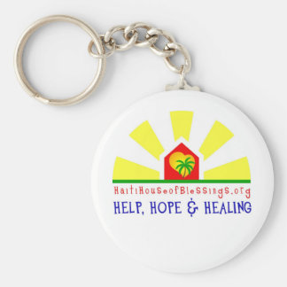 Haiti House of Blessings Key Chain