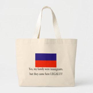 Haiti Jumbo Tote Bag