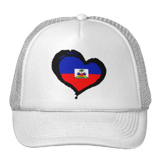 Haiti Love Trucker Hat