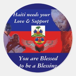 Haiti_Love& Support_ Sticker