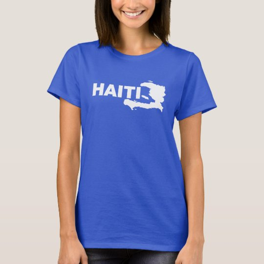 Haiti Map T-Shirt