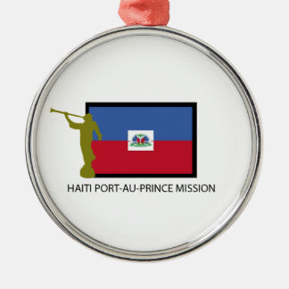HAITI PORT-AU-PRINCE MISSION LDS CTR METAL ORNAMENT