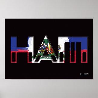 "Haiti Poster, 19"" x 13"" Poster"