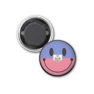 Haiti Smiley Magnet