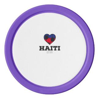 Haiti Soccer Shirt 2016 Poker Chips