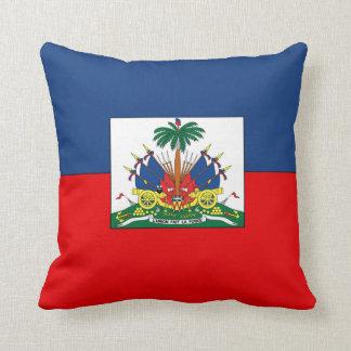 Haiti Throw Pillow