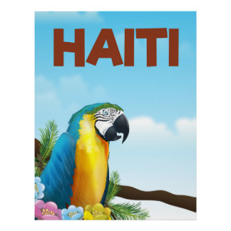 Haiti Travel poster