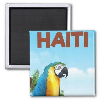 Haiti Travel poster Magnet