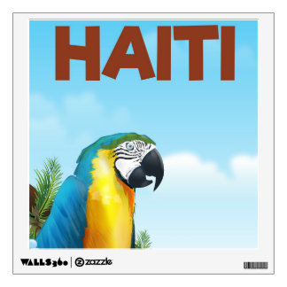 Haiti Travel poster Wall Decal