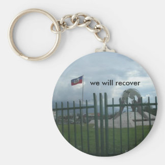 haiti, we will recover keychain