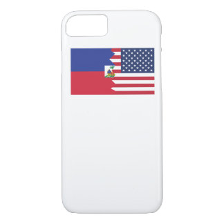 Haitian American Flag iPhone 7 Case