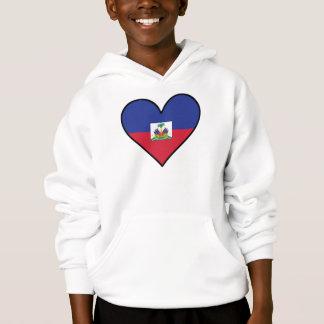 Haitian Flag Heart