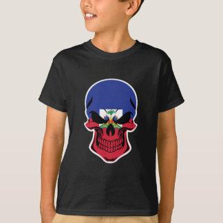 Haitian Flag Skull T-Shirt