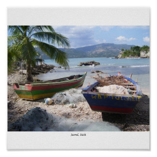 Haitian Paradise Poster