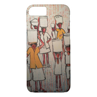 Haitian Water Carriers - art by Nazaire iPhone 7 Case
