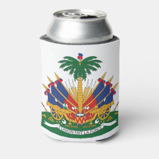 Haiti's Coat of arms Can Cooler