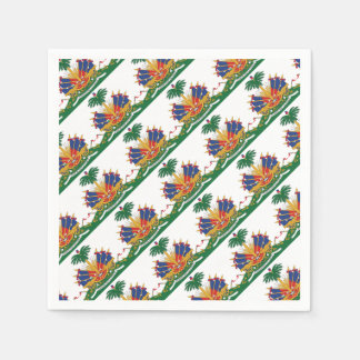 Haiti's Coat of arms Paper Napkin