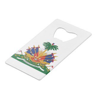Haiti's Coat of arms Wallet Bottle Opener