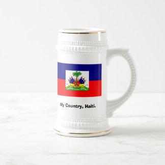 Haiti's My country, my home. Beer Stein