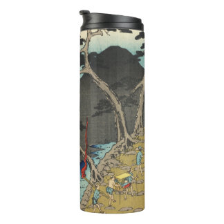 Hakone, Japan: Vintage Woodblock Print Thermal Tumbler