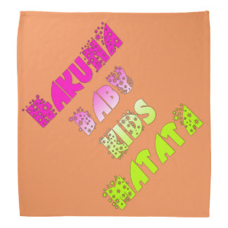 Hakuna Matata Baby Kids Colors Bandana