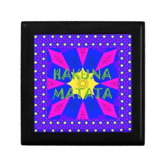 Hakuna Matata Beautiful Amazing Design Colors Gift Box