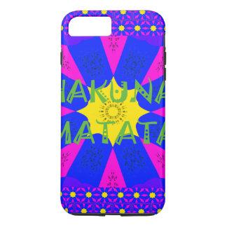 Hakuna Matata Beautiful Amazing Design Colors iPhone 7 Plus Case
