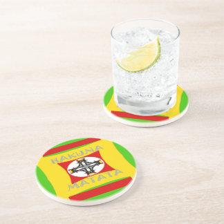 Hakuna Matata Beautiful amazing design Drink Coasters
