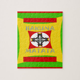 Hakuna Matata Beautiful amazing design Jigsaw Puzzle
