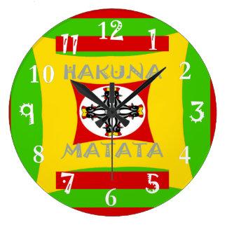 Hakuna Matata Beautiful amazing design Large Clock