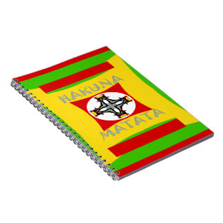 Hakuna Matata Beautiful amazing design Notebook