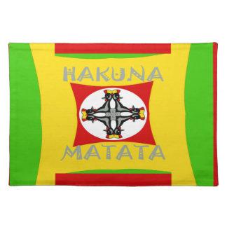 Hakuna Matata Beautiful amazing design Placemat