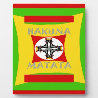 Hakuna Matata Beautiful amazing design Plaque
