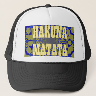 Hakuna Matata Beautiful amazing feminine African A Trucker Hat