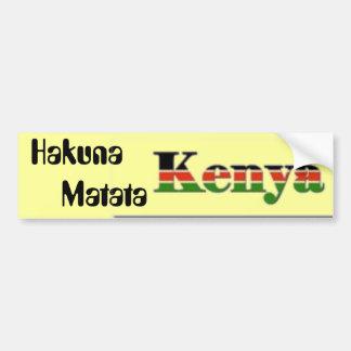 Hakuna        Matata Bumper Sticker