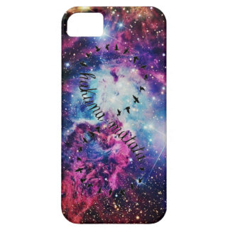 Hakuna Matata Infinity Galaxy iPhone 5 Case