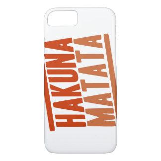 Hakuna Matata iPhone 7 case