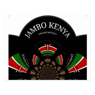Hakuna Matata Jambo Kenya Postcard